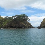 Entrance to Whangaroa harbour